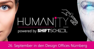 Graphic Recording auf dem Humanity Festival der Shift School @ Design Offices Nürnberg